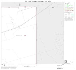 Primary view of object titled '1990 Census County Block Map (Recreated): Ward County, Block 8'.