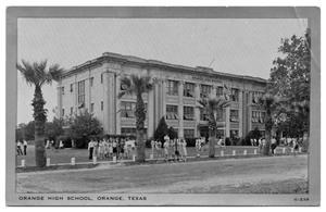 Primary view of object titled '[Orange High School]'.