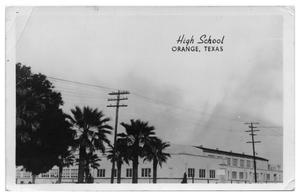 Primary view of object titled '[High School, Orange Texas]'.