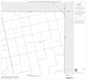 Primary view of object titled '1990 Census County Block Map (Recreated): Mitchell County, Block 4'.