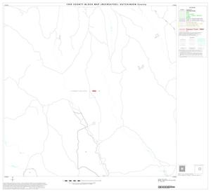 Primary view of object titled '1990 Census County Block Map (Recreated): Hutchinson County, Block 7'.