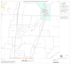 Primary view of object titled '1990 Census County Block Map (Recreated): Collin County, Block 10'.