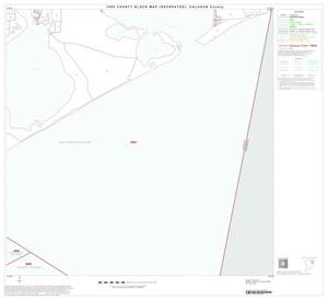 Primary view of object titled '1990 Census County Block Map (Recreated): Calhoun County, Block 8'.