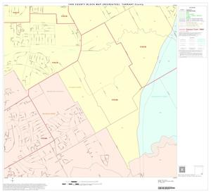 Primary view of object titled '1990 Census County Block Map (Recreated): Tarrant County, Block 89'.