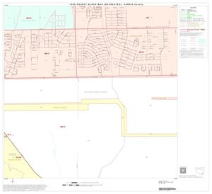 Primary view of object titled '1990 Census County Block Map (Recreated): Harris County, Block 187'.