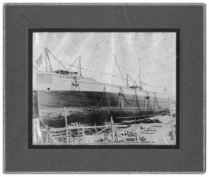 Primary view of object titled '[W.A. Ebsen, Ready for Launching]'.