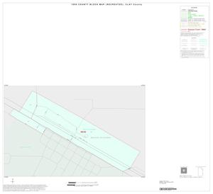 Primary view of object titled '1990 Census County Block Map (Recreated): Clay County, Inset C01'.