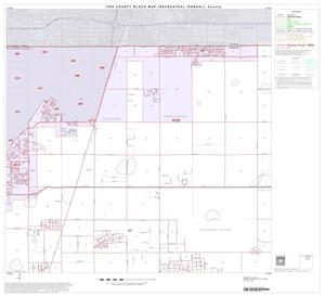 Primary view of object titled '1990 Census County Block Map (Recreated): Randall County, Block 3'.
