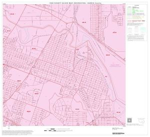 Primary view of object titled '1990 Census County Block Map (Recreated): Harris County, Block 154'.