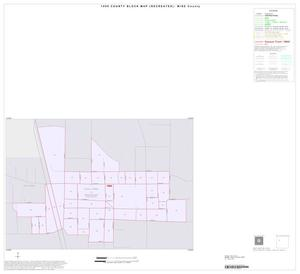 Primary view of object titled '1990 Census County Block Map (Recreated): Wise County, Inset B01'.