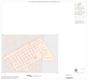 Primary view of object titled '1990 Census County Block Map (Recreated): Carson County, Inset B01'.