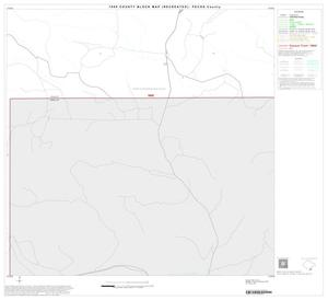 Primary view of object titled '1990 Census County Block Map (Recreated): Pecos County, Block 45'.