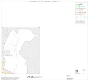 Primary view of object titled '1990 Census County Block Map (Recreated): Jasper County, Inset A02'.