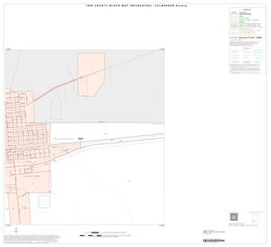 Primary view of object titled '1990 Census County Block Map (Recreated): Culberson County, Inset B02'.