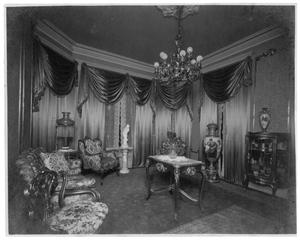 Primary view of object titled '[Drawing Room at Brown Home in Orange]'.