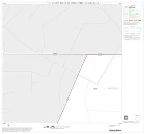 Primary view of object titled '1990 Census County Block Map (Recreated): Hidalgo County, Block 1'.