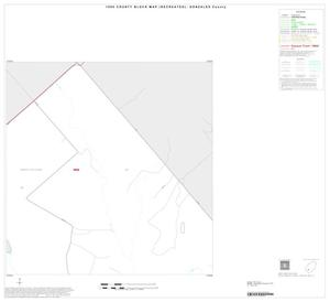 Primary view of object titled '1990 Census County Block Map (Recreated): Gonzales County, Inset G02'.
