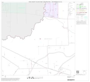 Primary view of object titled '1990 Census County Block Map (Recreated): Jefferson County, Block 6'.