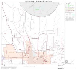 Primary view of object titled '1990 Census County Block Map (Recreated): Cooke County, Block 11'.