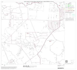 Primary view of object titled '1990 Census County Block Map (Recreated): Montgomery County, Block 33'.