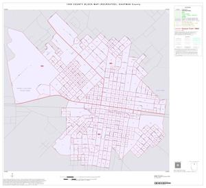 Primary view of object titled '1990 Census County Block Map (Recreated): Kaufman County, Inset B01'.