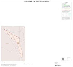 Primary view of object titled '1990 Census County Block Map (Recreated): Dallas County, Inset A01'.