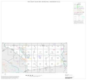 Primary view of object titled '1990 Census County Block Map (Recreated): Henderson County, Index'.
