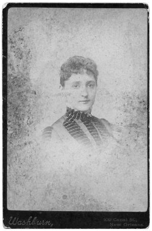 Primary view of object titled 'Portrait of unidentified woman'.