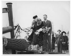 Primary view of object titled 'Christening of the Higman Touring Tug'.