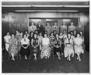 Primary view of object titled 'People of the Orange National Bank'.