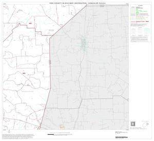 Primary view of object titled '1990 Census County Block Map (Recreated): Gonzales County, Block 7'.