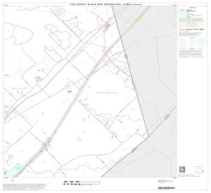 Primary view of object titled '1990 Census County Block Map (Recreated): Comal County, Block 19'.