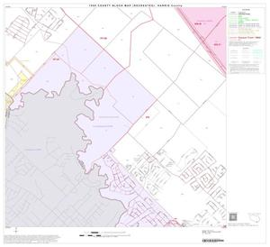 Primary view of object titled '1990 Census County Block Map (Recreated): Harris County, Block 202'.