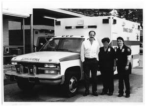 Primary view of object titled '1993 OCAS Ambulance'.