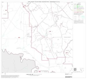 Primary view of object titled '1990 Census County Block Map (Recreated): Anderson County, Block 12'.