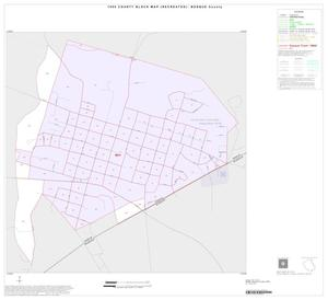 Primary view of object titled '1990 Census County Block Map (Recreated): Bosque County, Inset J01'.