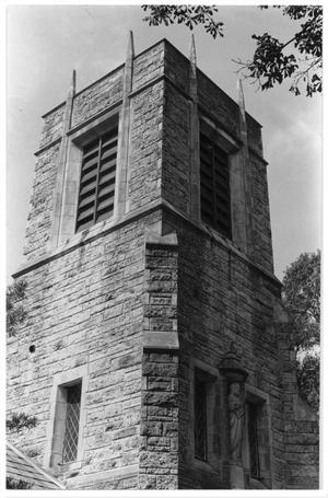 Primary view of object titled 'Bell tower of the St. Paul's Episcopal Church'.