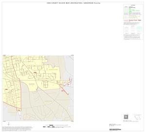 Primary view of object titled '1990 Census County Block Map (Recreated): Anderson County, Inset C04'.