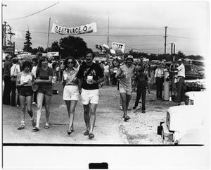 Primary view of object titled '[Photograph of Crowd at Gumbo Cookoff]'.