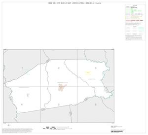 Primary view of object titled '1990 Census County Block Map (Recreated): Madison County, Index'.