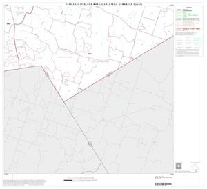 Primary view of object titled '1990 Census County Block Map (Recreated): Comanche County, Block 13'.