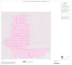 Primary view of object titled '1990 Census County Block Map (Recreated): Anderson County, Inset A01'.