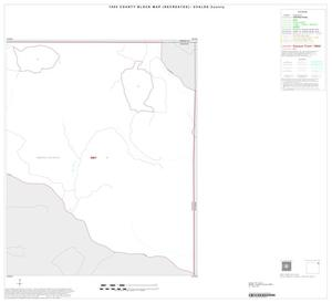 Primary view of object titled '1990 Census County Block Map (Recreated): Uvalde County, Inset A02'.