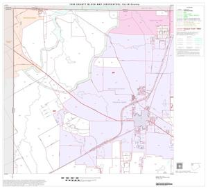 Primary view of object titled '1990 Census County Block Map (Recreated): Ellis County, Block 1'.