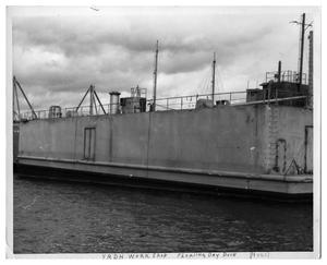 Primary view of object titled '[YRDH Workshop - Floating Dry Dock]'.