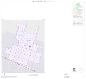Primary view of object titled '2000 Census County Block Map: Bell County, Inset I01'.