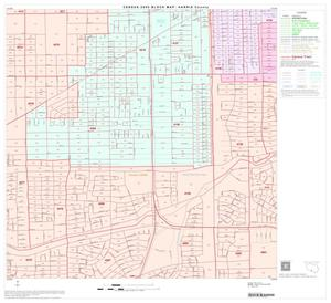 Primary view of object titled '2000 Census County Block Map: Harris County, Block 166'.