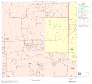 Primary view of object titled '2000 Census County Block Map: Tarrant County, Block 17'.