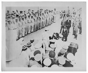 Primary view of object titled '[Japanese surrender, September 2, 1945]'.