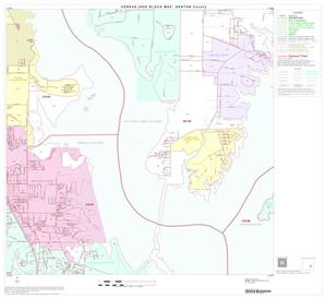 Primary view of object titled '2000 Census County Block Map: Denton County, Block 38'.